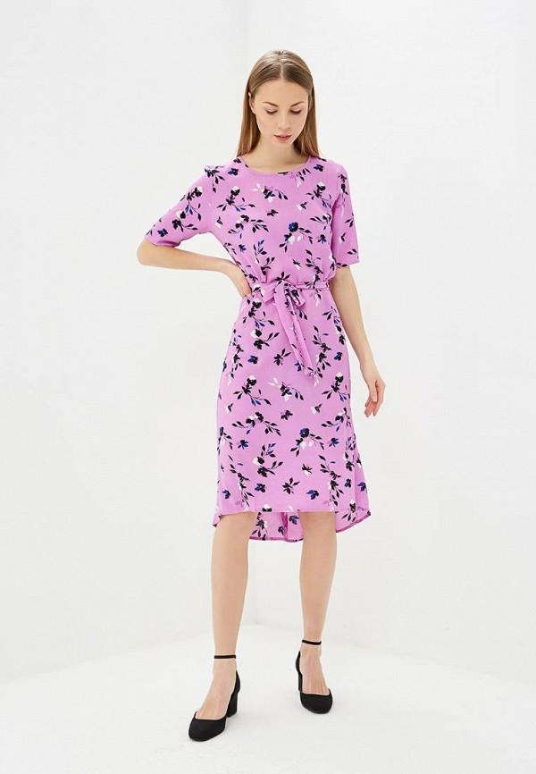 женское повседневные платье jacqueline de yong, фиолетовое