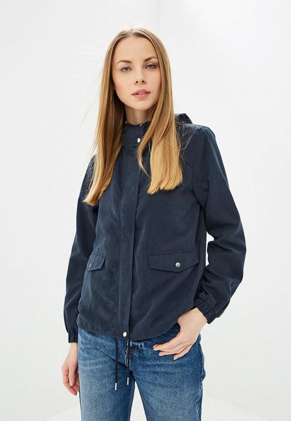 женская легкие куртка jacqueline de yong, синяя
