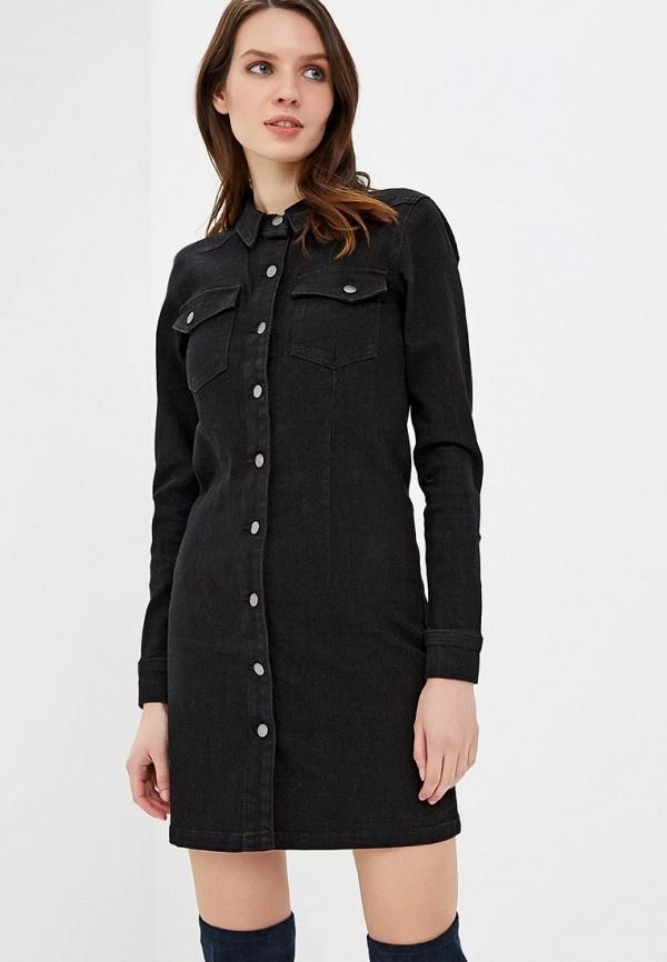Платье джинсовое Jacqueline de Yong Jacqueline de Yong JA908EWDOQW1 накидка jacqueline de yong jacqueline de yong ja908ewapii5