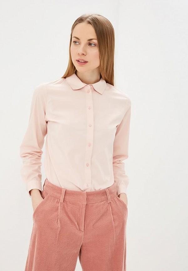 женская рубашка с длинным рукавом jacqueline de yong, розовая