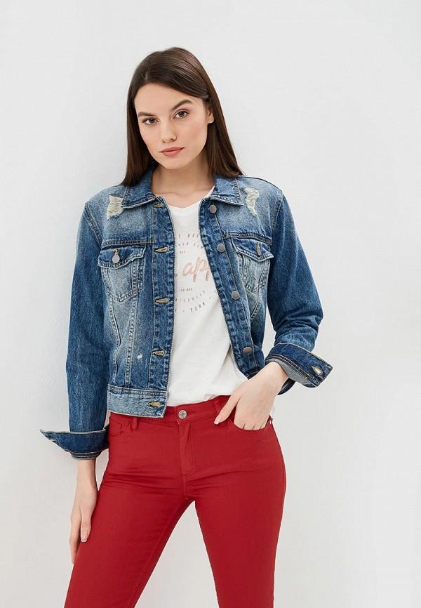 Купить Куртка джинсовая Jacqueline de Yong, ja908ewdsww4, синий, Весна-лето 2019