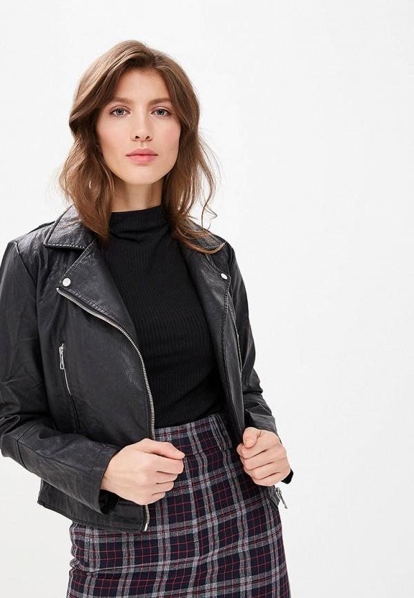 Купить Куртка кожаная Jacqueline de Yong, ja908ewdsww6, черный, Весна-лето 2019