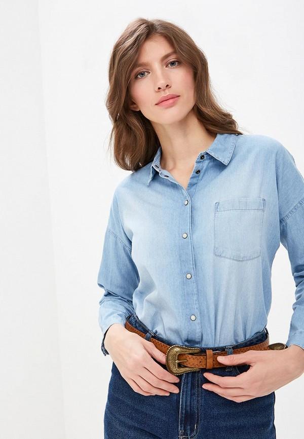 Купить Рубашка джинсовая Jacqueline de Yong, ja908ewdswx0, голубой, Весна-лето 2019