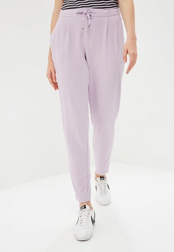 женские повседневные брюки jacqueline de yong, фиолетовые