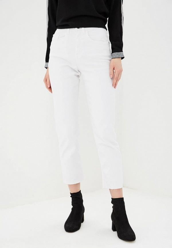 женские прямые джинсы jacqueline de yong, белые
