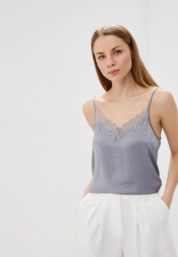 Топ Jacqueline de Yong, ja908ewdswz3, серый, Весна-лето 2019  - купить со скидкой