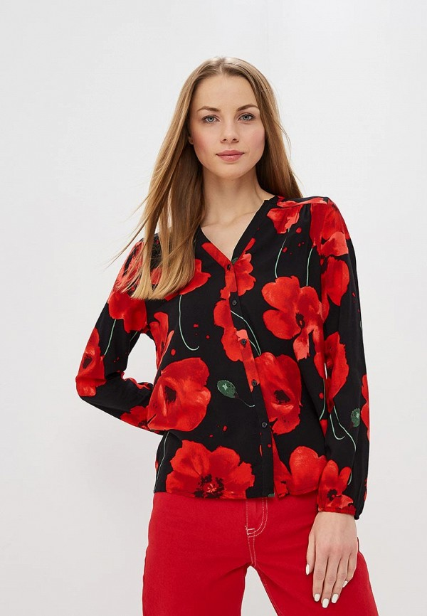 Купить Блуза Jacqueline de Yong, ja908ewdswz5, красный, Весна-лето 2019