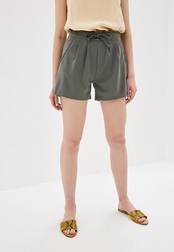 женские повседневные шорты jacqueline de yong, серые
