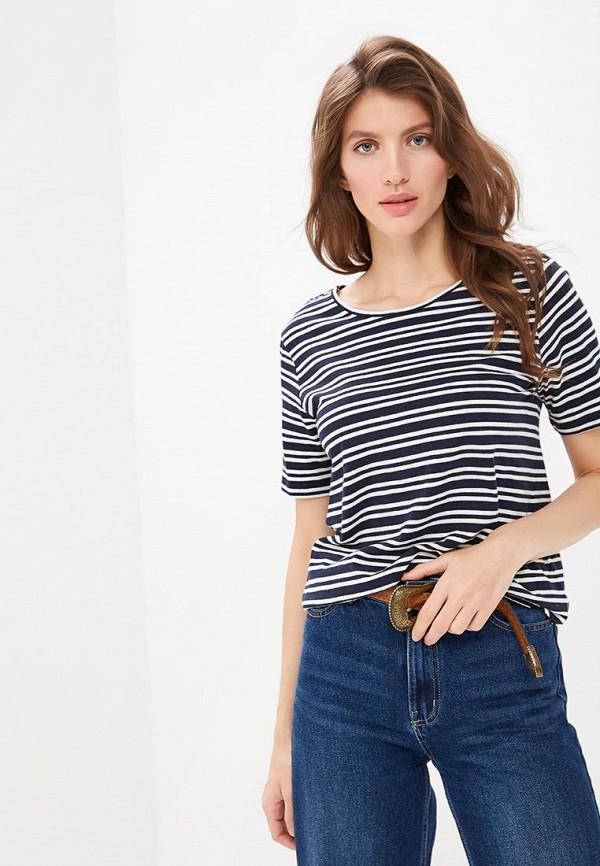 женская футболка jacqueline de yong, синяя