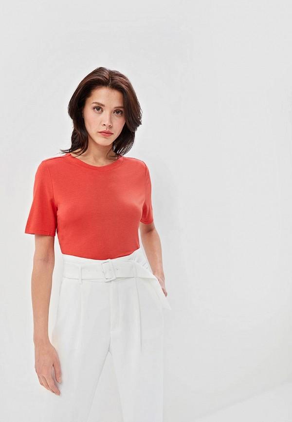 женская футболка jacqueline de yong, красная