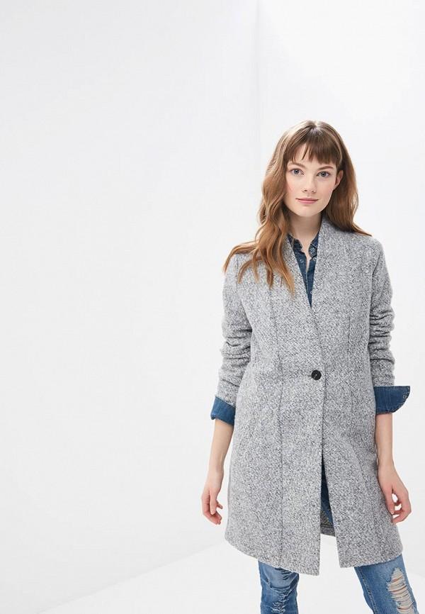 Пальто Jacqueline de Yong, ja908ewdsxj5, серый, Весна-лето 2019  - купить со скидкой