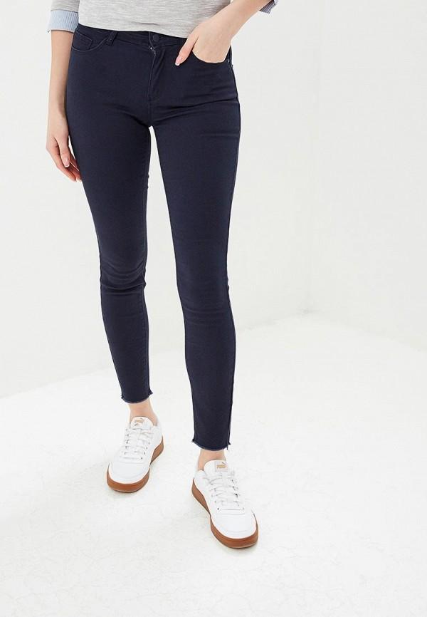 женские повседневные брюки jacqueline de yong, синие