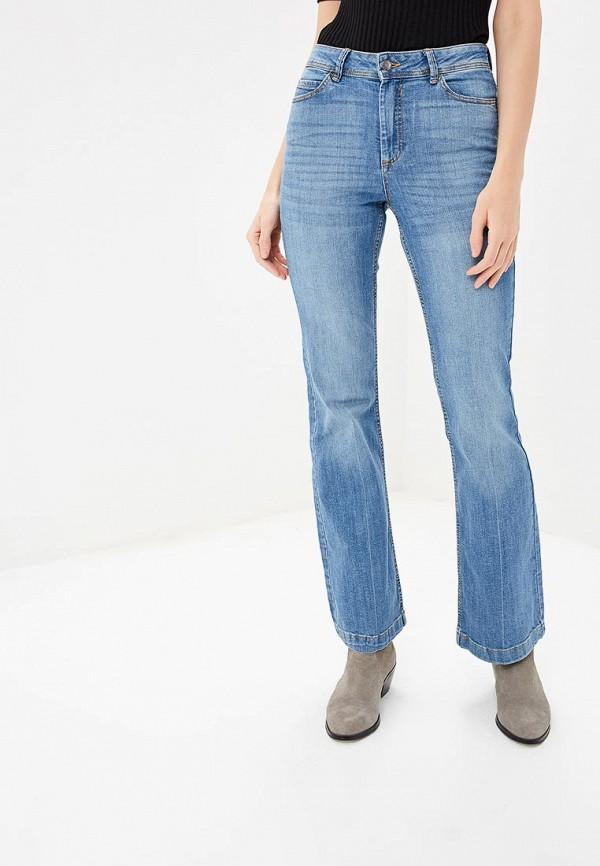 женские джинсы клеш jacqueline de yong, синие