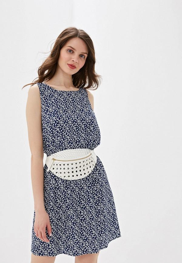 женское повседневные платье jacqueline de yong, синее
