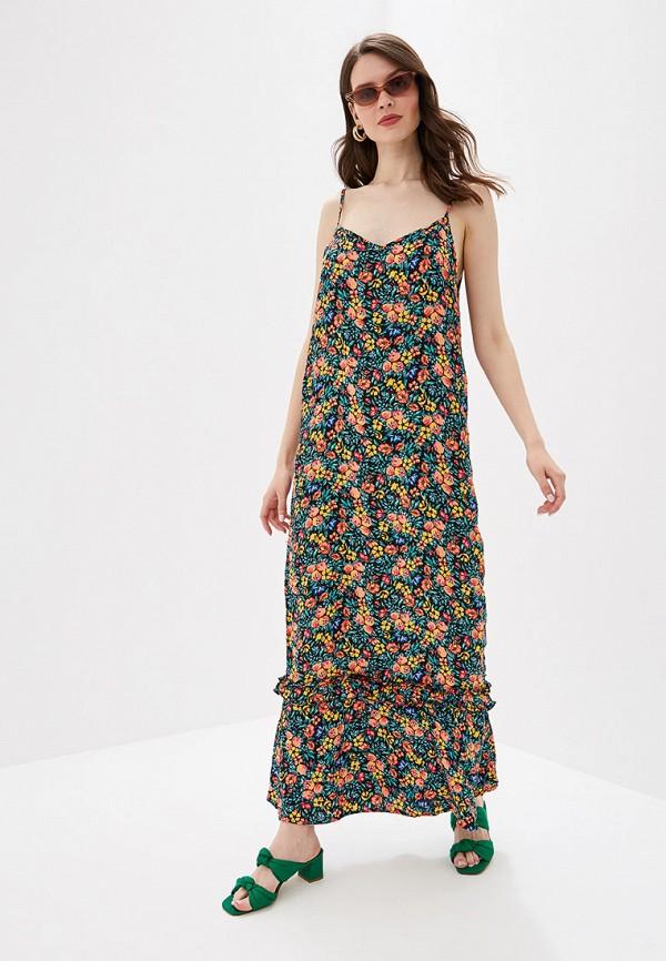 женское повседневные платье jacqueline de yong, разноцветное