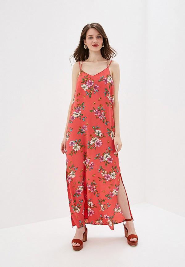 женское повседневные платье jacqueline de yong, розовое