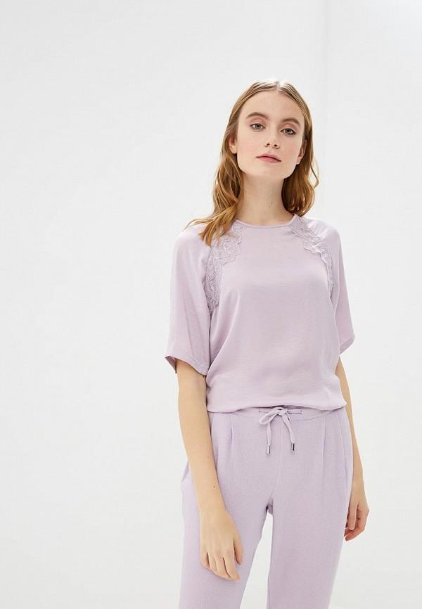 Купить Блуза Jacqueline de Yong, ja908ewemou1, фиолетовый, Весна-лето 2019