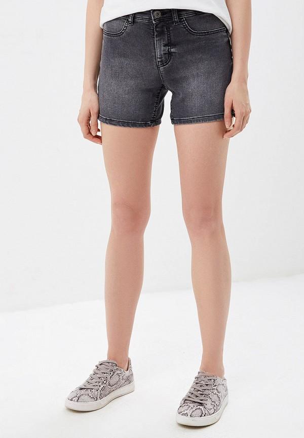 женские джинсовые шорты jacqueline de yong, серые