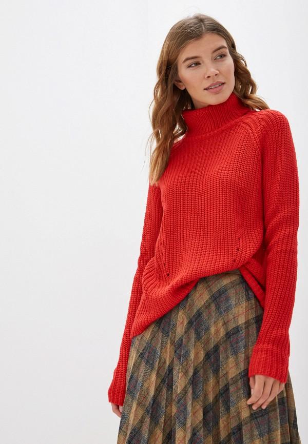 женский свитер jacqueline de yong, красный
