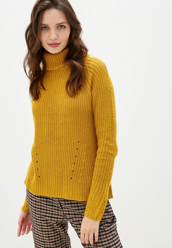 женский свитер jacqueline de yong, желтый