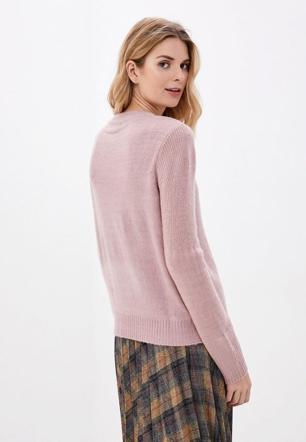 Фото 3 - женский джемпер Jacqueline de Yong розового цвета