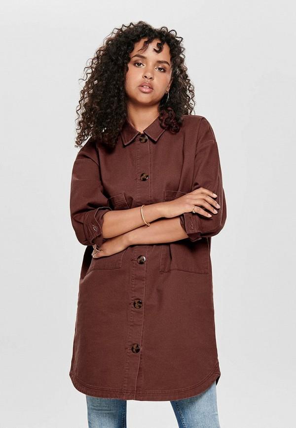 Купить женскую тунику Jacqueline de Yong коричневого цвета
