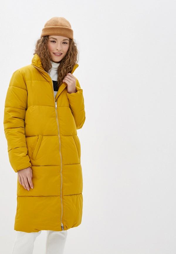 Фото - Куртку утепленная Jacqueline de Yong желтого цвета