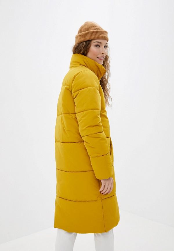 Фото 3 - Куртку утепленная Jacqueline de Yong желтого цвета