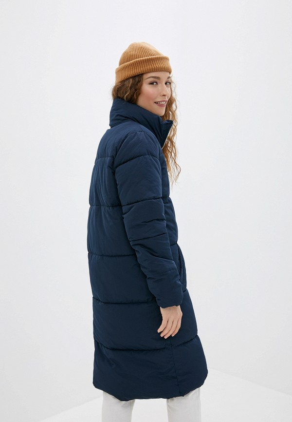 Фото 3 - Куртку утепленная Jacqueline de Yong синего цвета