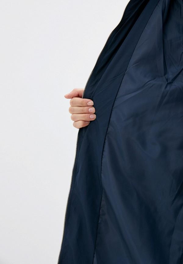 Фото 4 - Куртку утепленная Jacqueline de Yong синего цвета