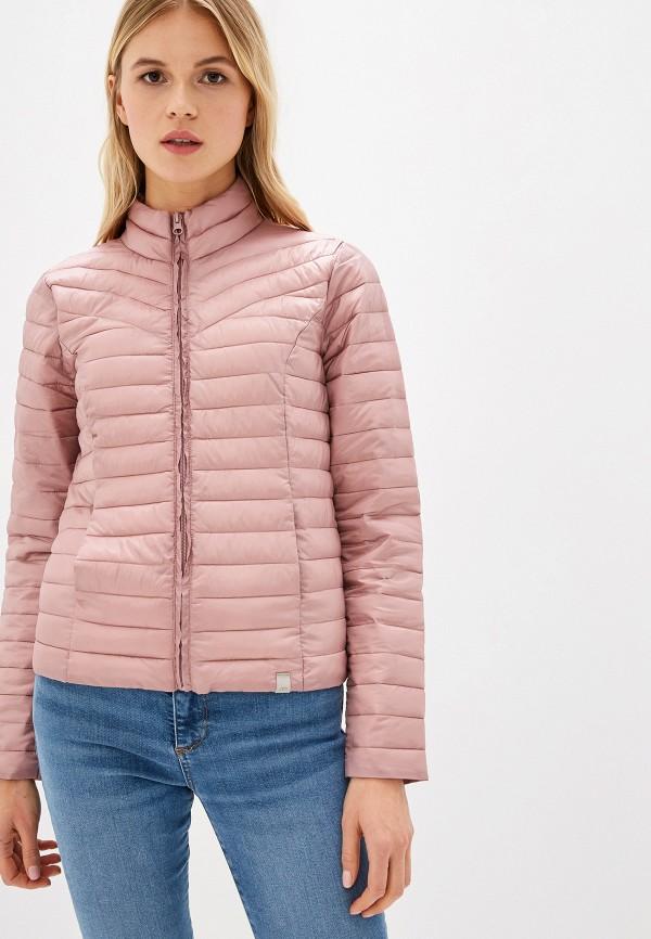 женская куртка jacqueline de yong, розовая