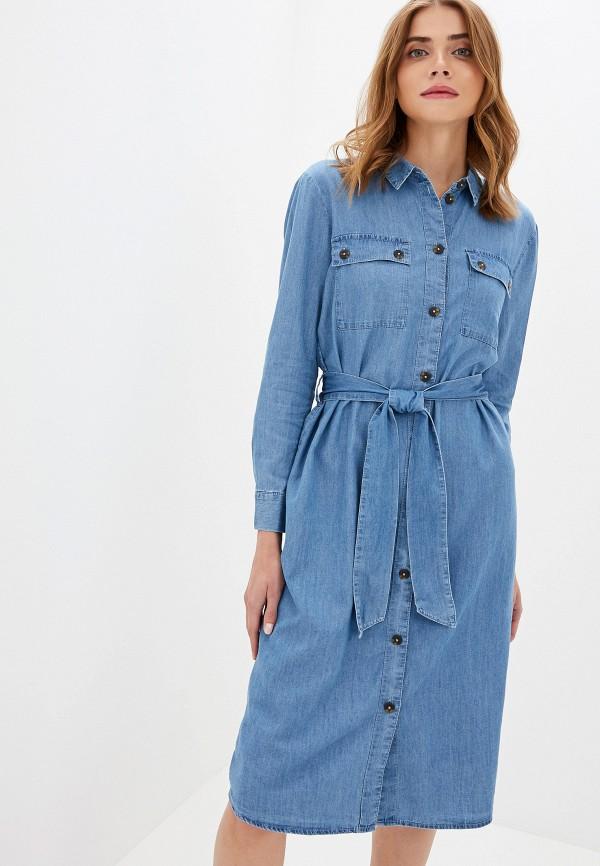 Платье джинсовое Jacqueline de Yong Jacqueline de Yong JA908EWFKIO4