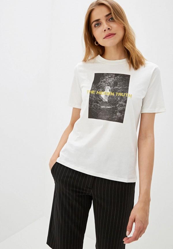 Фото - Футболка Jacqueline de Yong Jacqueline de Yong JA908EWFKIT3 футболка jacqueline de yong jacqueline de yong ja908ewdsxj2