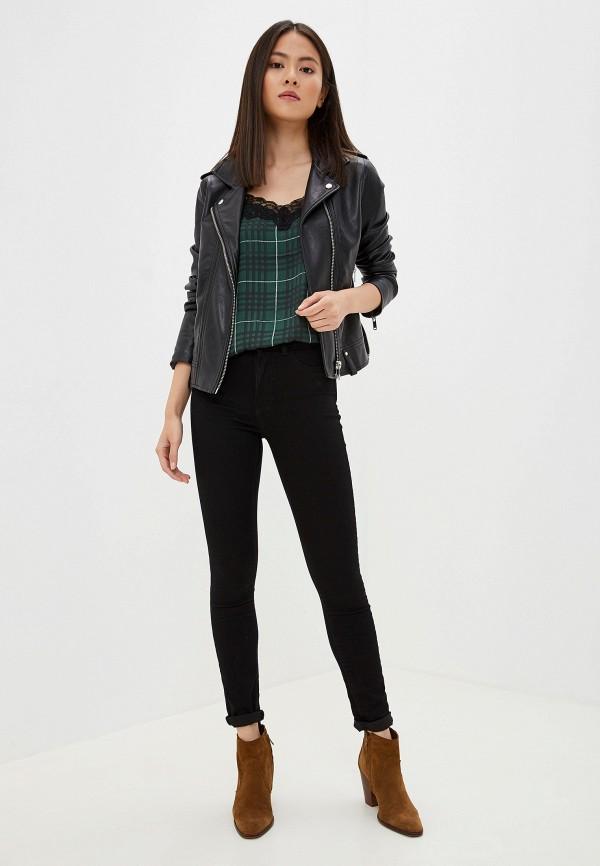 Фото 2 - женские джинсы Jacqueline de Yong черного цвета