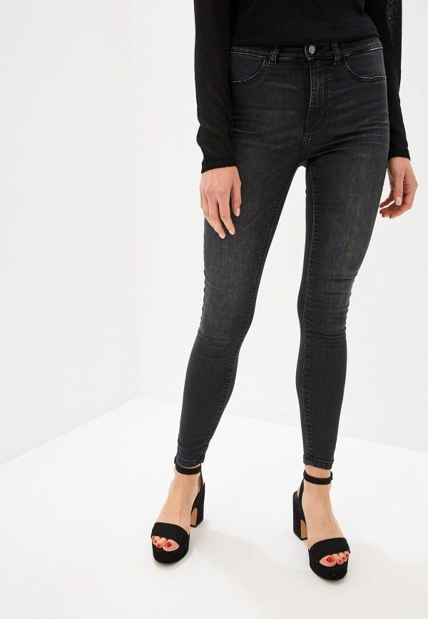 Фото - Женские джинсы Jacqueline de Yong серого цвета