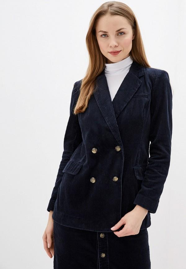 женский пиджак jacqueline de yong, синий