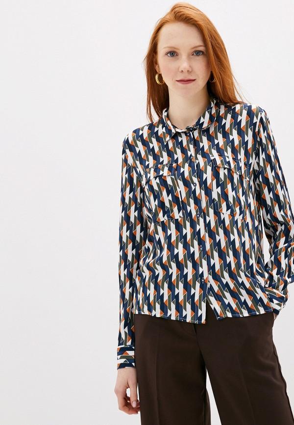 женская блузка jacqueline de yong, синяя