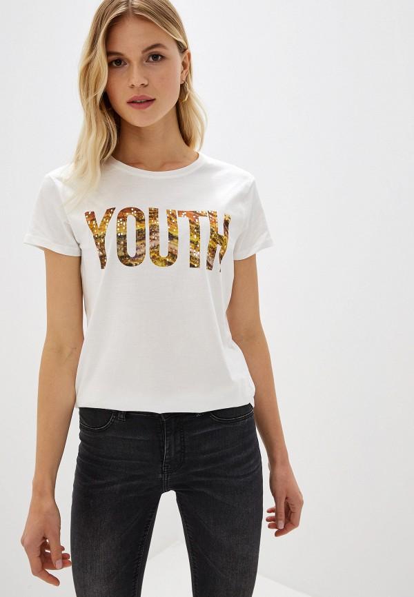 Фото - Футболка Jacqueline de Yong Jacqueline de Yong JA908EWFKJG7 футболка jacqueline de yong jacqueline de yong ja908ewdsxj2