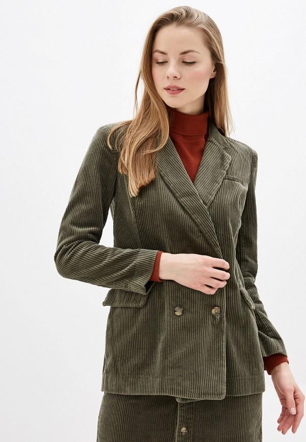 женский пиджак jacqueline de yong, хаки