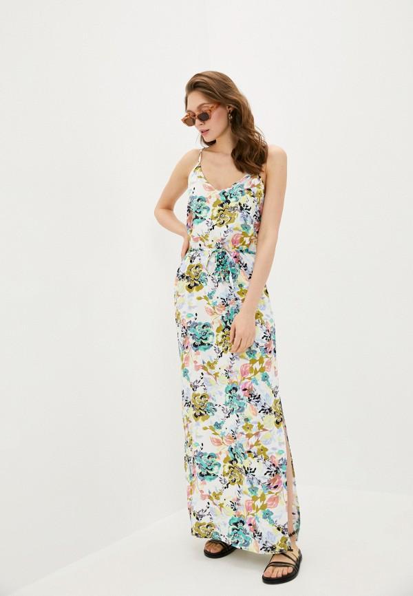 женское повседневные платье jacqueline de yong, белое
