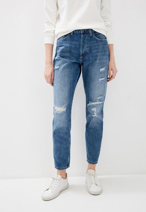 женские джинсы бойфренд jacqueline de yong, синие