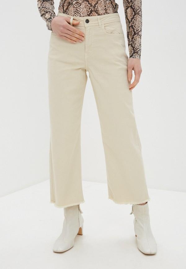 женские прямые джинсы jacqueline de yong, бежевые