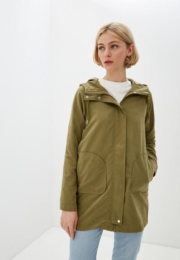 женская легкие куртка jacqueline de yong, хаки