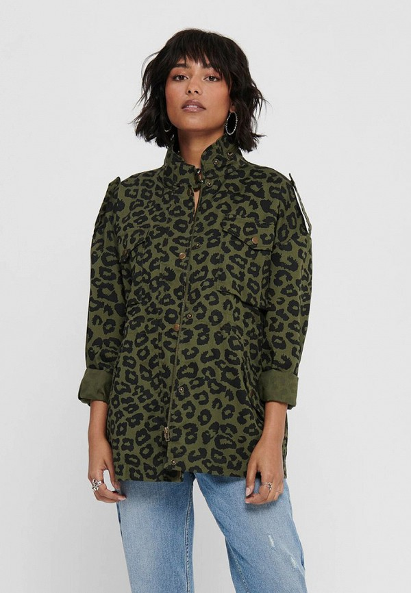 женская легкие куртка jacqueline de yong, зеленая