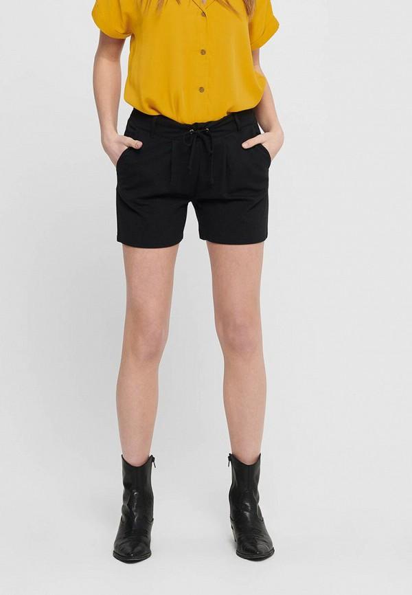 женские повседневные шорты jacqueline de yong, черные
