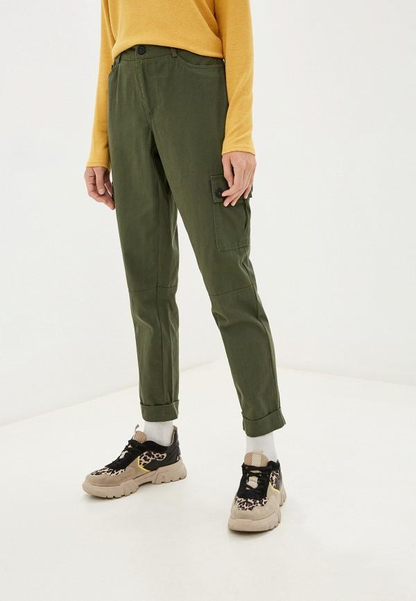женские брюки карго jacqueline de yong, хаки