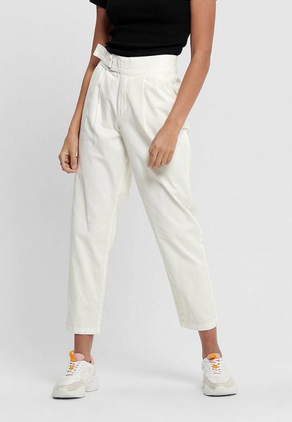 женские повседневные брюки jacqueline de yong, белые