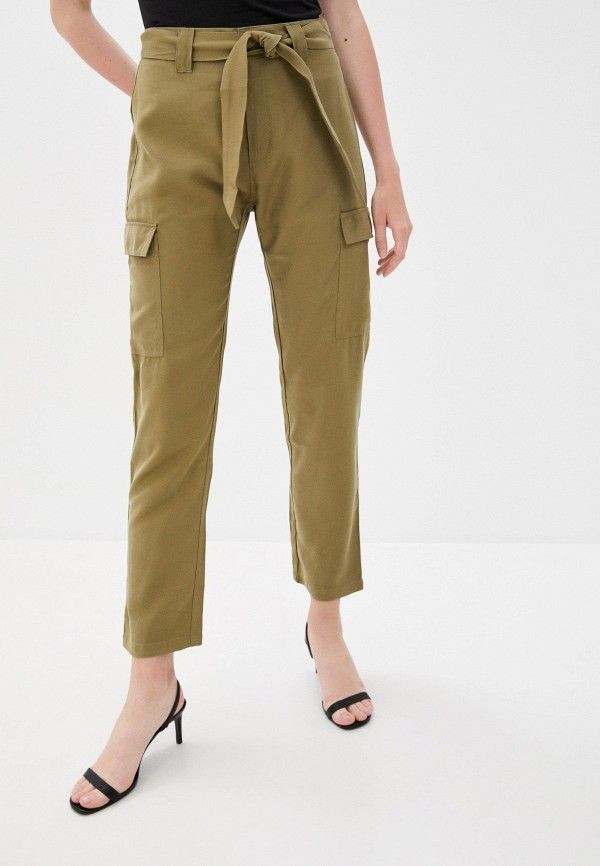 женские брюки jacqueline de yong, хаки