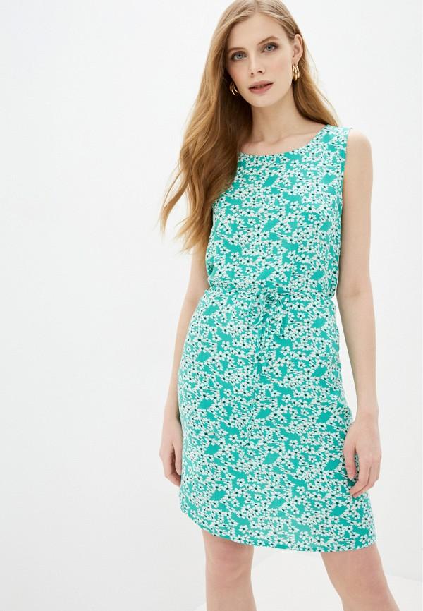 женское повседневные платье jacqueline de yong, бирюзовое