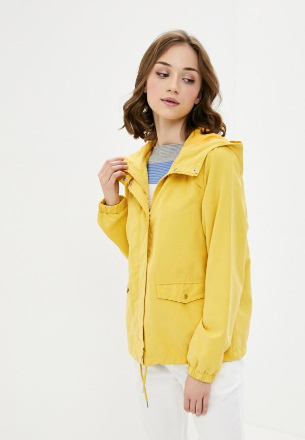 женская легкие куртка jacqueline de yong, желтая